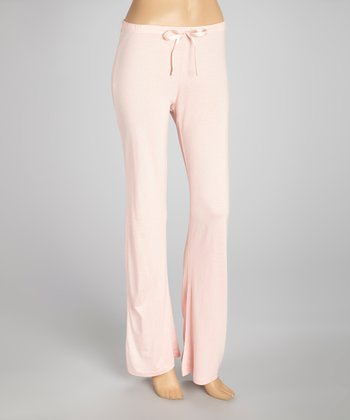 English Rose Drawstring Pajama Pants - Women