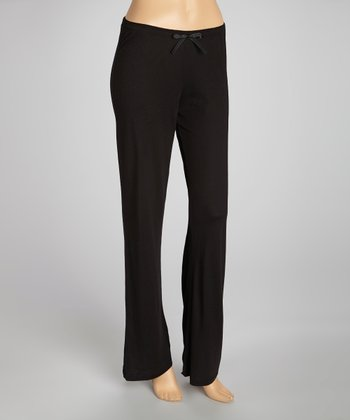 Black Pajama Pants - Women
