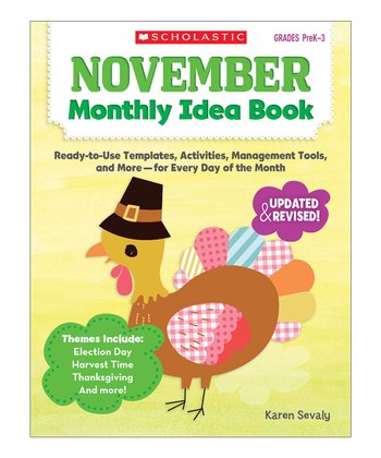 November Monthly Idea Paperback