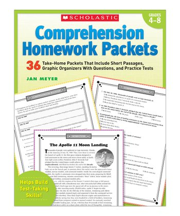 Comprehension Homework Paperback