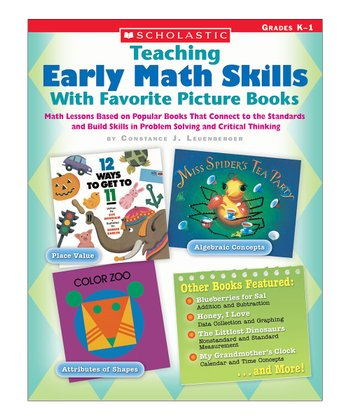 Teaching Early Math Skills With Favorite Picture Books Paperback