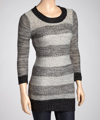 Black Stripe Sweater