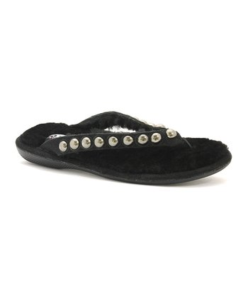 Black Bubbly Sandal - Women