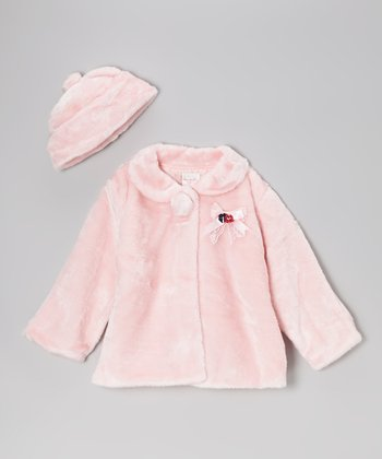 Pink Luxe Jacket & Hat - Infant, Toddler & Girls