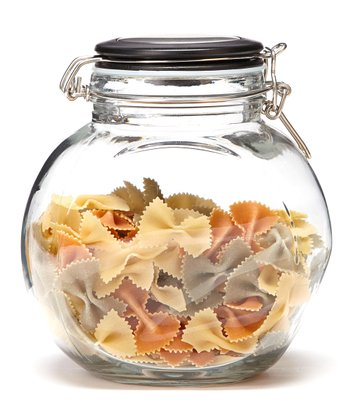 Glass Space Saver Jar