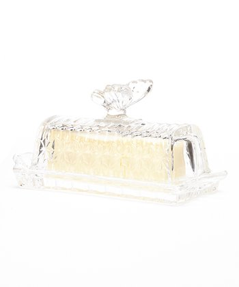 Lily Rectangle Butter Dish