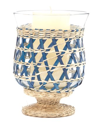 Blue Large Candleholder
