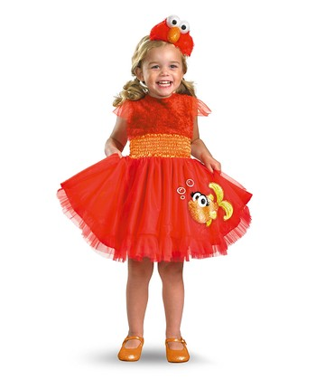 Frilly Elmo Dress-Up Set - Infant, Toddler & Kids
