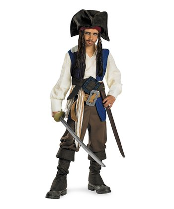 Captain Jack Sparrow Dress-Up Set - Kids