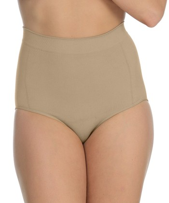 Nude Shaper High-Waisted Briefs