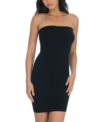 Black Shaper Strapless Slip
