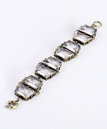 Gold Sparkle Retro Bracelet