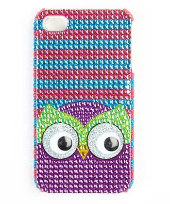 Purple & Green Owl Case for iPhone 5