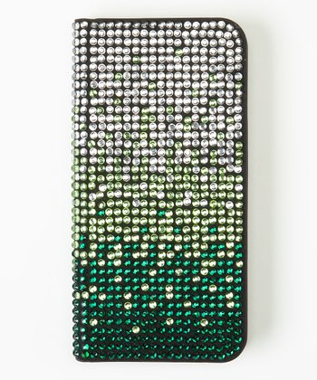 Green Ombré Flip-Open Case for iPhone 5