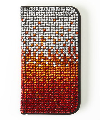 Red Ombré Flip-Open Case for Samsung Galaxy S III