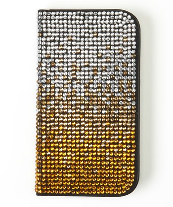 Gold Ombré Flip-Open Case for Samsung Galaxy S III