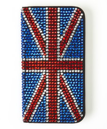 Blue Union Jack Flip-Open Case for Samsung Galaxy S4