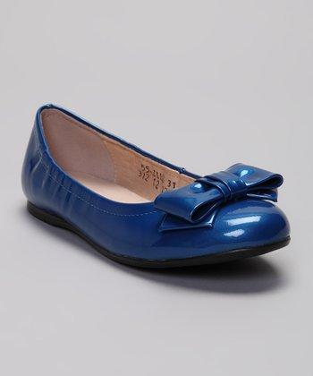 Venettini Teal Blue 55-Jill Ballet Flat