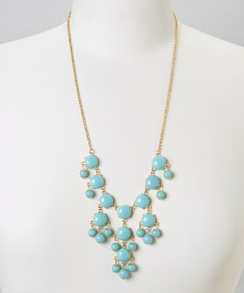 Turquoise Mini Bubble Necklace