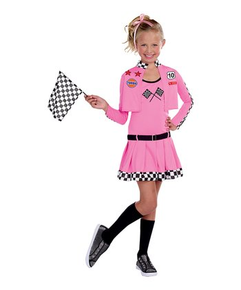 Sweet Lil' Racer Dress-Up Set - Girls