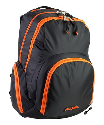 Black Travel Tech Backpack