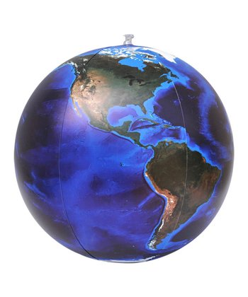 Blue Marble View 24'' Inflatable Globe