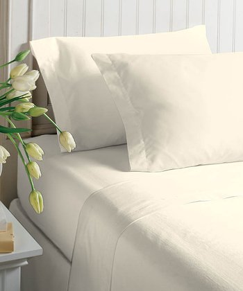 Parchment Satin Sheet Set