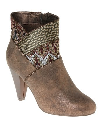 Brown Andrea Bootie