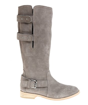 Camel Suede Convertible Boot