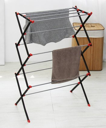 Matte Steel Collapsible Dryer Rack