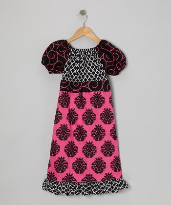 Chateau Olivia Ruffle-Bottom Dress - Toddler & Girls