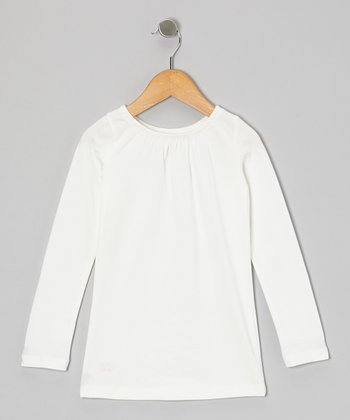 Cream Tee - Toddler & Girls