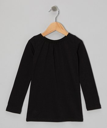 Black Tee - Toddler & Girls