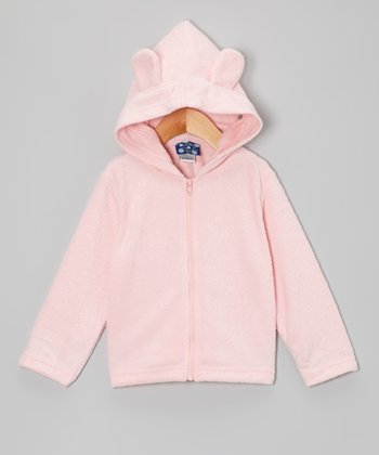 Lotus Fleece Critter Zip-Up Hoodie - Infant