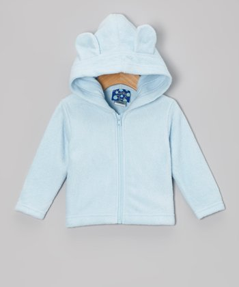 Pond Fleece Critter Zip-Up Hoodie - Infant & Toddler