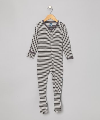 Raccoon Stripe Footie - Infant, Toddler & Boys