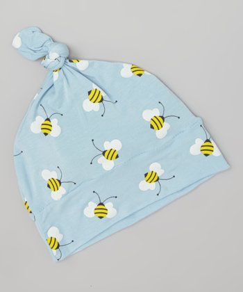 Pond Bee Single-Knot Beanie