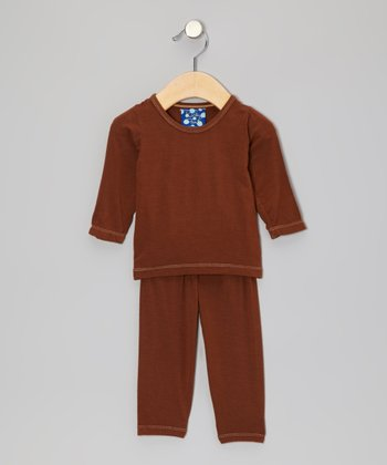 Fawn Long-Sleeve Pajama Set - Infant