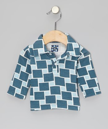 Twilight Lattice Long-Sleeve Polo - Infant, Toddler & Boys