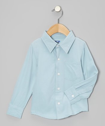 Pond Woven Long-Sleeve Button-Up - Infant & Boys