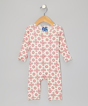 Lotus Flower Playsuit - Infant