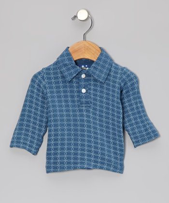 Twilight Circle Long-Sleeve Polo - Infant & Toddler
