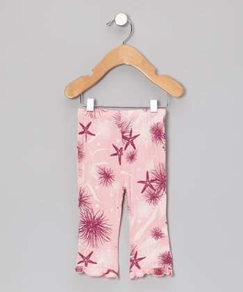 Lotus Sea Floor Ruffle Pants - Infant