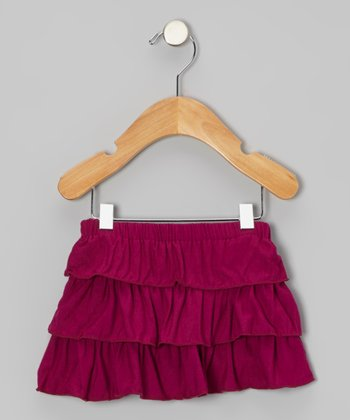 Orchid Tiered Ruffle Skirt - Infant
