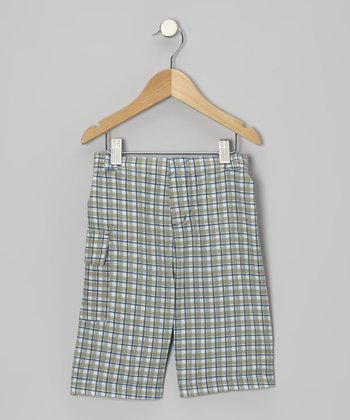 Twilight Plaid Shorts - Infant, Toddler & Boys