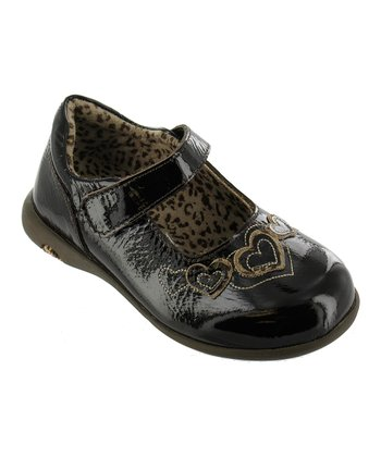 Dark Brown Patent & Leopard Simone Mary Jane