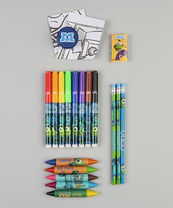 Monsters University Art Supplies Set