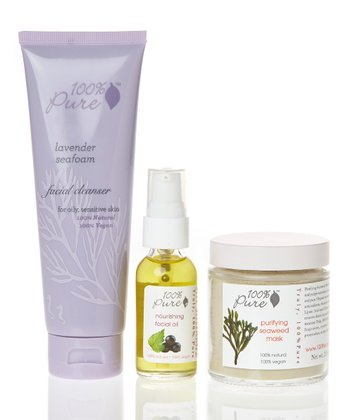 Lavender Seafoam Skin Care Set