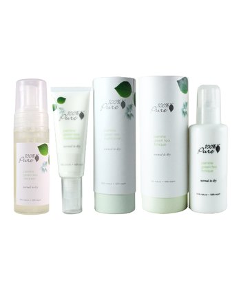 Jasmine Green Tea Skin Care Set