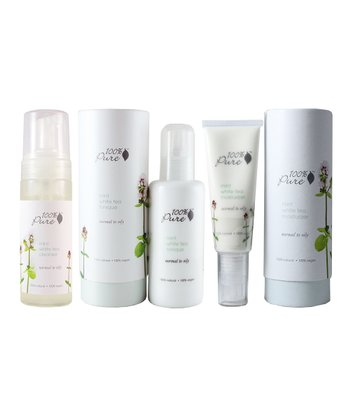 Mint White Tea Skin Care Set